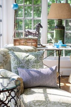 Spruce Up Your Home For Fall | Pillows by Hen House #henhouselinens