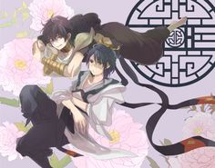 Ren Hakuryuu & Judal - Magi: The Labyrinth of Magic
