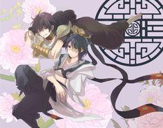 Ren Hakuryuu & Judal - Magi: The Labyrinth of Magic