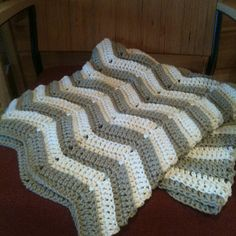 Crotchet blanket