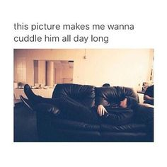 Yes. It makes me wanna jump on the couch and kiss his cheek and grin down at him while he looks up and giggles at my silliness and weirdness.