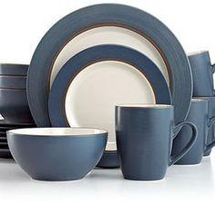 Thomson Pottery Dinnerware, Kensington Stone 16 Piece Set on shopstyle.com