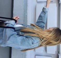 #hair #oversized #levisjacket