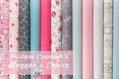 Blogger's Choice: Kristyne Czepuryk of Pretty By Hand   GIVEAWAY