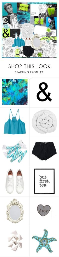 """""""1132   INTO YOU! ♥"""" by carrotsandlemons ❤ liked on Polyvore featuring Cassandra Tondro, GE, ELSE, Chanel, TIBI, The Fine Bedding Company, Hudson Jeans, H&M, WALL and Bobbi Brown Cosmetics"""