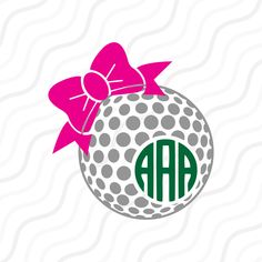 A personal favourite from my Etsy shop https://www.etsy.com/sg-en/listing/501996203/golf-ball-bow-svg-golf-svg-golf-ball-bow
