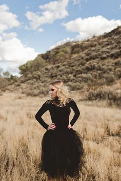 Fall wedding inspiration samanthamcfarlen.com black wedding dress deep colors yakima Washington