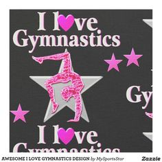 AWESOME I LOVE GYMNASTICS DESIGN Calling all Gymnasts! Enjoy the best selection of Gymnastics Tees & Gifts from Zazzle.  15% Off Sitewide Use Code: SPRINGLOVE17      http://www.zazzle.com/mysportsstar/gifts?cg=196751399353624165&rf=238246180177746410   #Gymnastics #Gymnast #Gymnastgift #Gymnastgirl