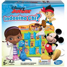 Hasbro - Indovina Chi? Disney Junior