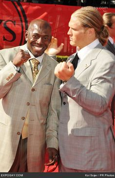 Donald Driver and Clay Matthews