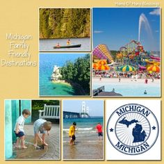 An extensive list of Michigan Family Friendly Destinations. Great places for FREE and some that charge admission.
