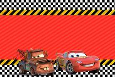 Convite Carros 2