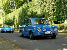 Renault 8 Gordini - Alpine A110 Renault Nissan, Renault Sport, Vintage Racing, Vintage Cars, Nissan Infiniti, Top Cars, Car Humor, Tenerife, Cars And Motorcycles