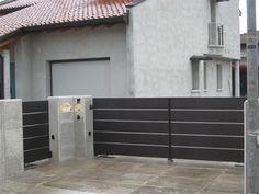 Arch House, Garage Doors, Building, Outdoor Decor, Fences, Metallica, Museums, Iron, Home Decor