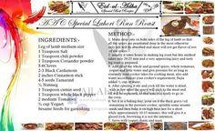 Special lahori raan roast