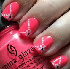 Nail art Christmas - the festive spirit on the nails. Over 70 creative ideas and tutorials - My Nails Fingernail Designs, Toe Nail Designs, Nails Design, Cute Nail Art, Easy Nail Art, Nail Art For Kids, Nail Art For Beginners, Simple Nail Art Designs, Nail Designs For Kids