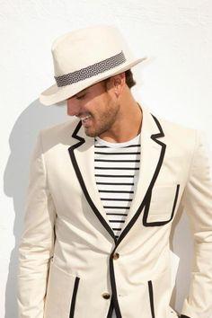 Nautical Menswear: Marlon Teixeira by Igor Garanin for GQ Style Gq Style, Looks Style, Looks Cool, Style Men, Marlon Teixeira, Fashion Moda, Look Fashion, Mens Fashion, Sharp Dressed Man