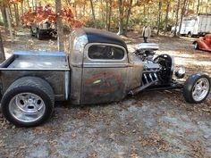 Rat Rod Cars, Hot Rod Trucks, Cool Trucks, Chevy Trucks, Cool Cars, Pickup Trucks, Dually Trucks, Truck Drivers, Semi Trucks