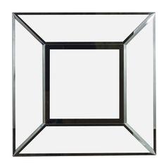 Kenroy Home 60022 Cubic Wall Mirror, Black