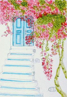 watercolor - steps