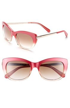 kate spade new york 53mm retro sunglasses available at #Nordstrom