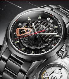Hot tritium luminous High Quality Men Watches Top Brand Luxury Sapphire Waterproof Watches Men Automatic Mechanical Wrist Watch.
