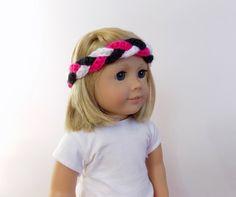 Doll Headband 18 Inch Doll Braided Headband by PreciousBowtique