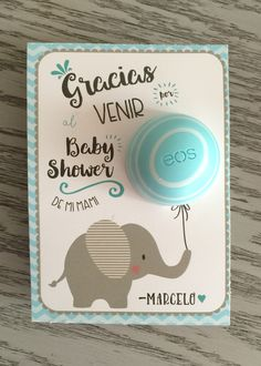 Eos baby shower favor
