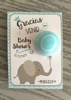 Eos baby shower favor