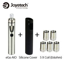 Get Discount Joyetech EGo AIO All In One Kit Vaporizer with AIO Silicone Case Cover Electronic Cigarette Original Silicone Rubber, Starter Kit, Consumer Electronics, All In One, The Originals, Cover, Electronic Cigarettes, Stuff To Buy, Coupon
