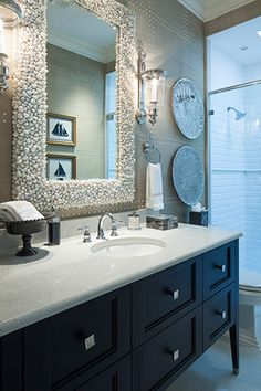 Inspiration Gallery: Bathrooms   Browse through decorating photos to find inspiration and ideas for your home.   decoratingfiles.com