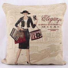 Milan Shopping Vintage Retro Tapestry Cushion Covers x Retro Flip Clock, Retro Alarm Clock, Milan Shopping, Shop Signage, Cushion Covers, Thrifting, Retro Vintage, Cushions, Pillows
