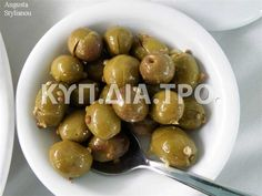Cypriot Food, Greek Recipes, Preserves, Food To Make, Healthy Eating, Cooking Recipes, Fruit, Cyprus, Olives