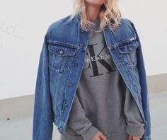 Could You Live Your Life In All Denim Like This Woman?