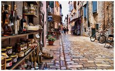 rovinj, croatia /bootsnall if i could change just one thing about the US i would make all our streets cobblestone :)