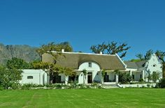Anthonij Rupert Wines Tasting Rooms Cape Dutch, African House, Wine Tasting Room, Dutch House, Garden Walls, Nordic Walking, Country Houses, Wineries, Cape Town