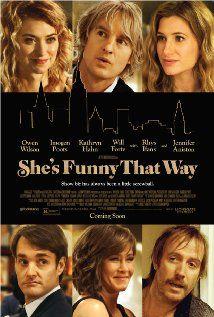 Bodgdanovich´s comedy (2014) Poster - Terapia en Broadway - had a good laugh