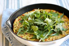 My Favorite Veggie Frittata  Serving Size: 1 slice of 6 • Calories: 130