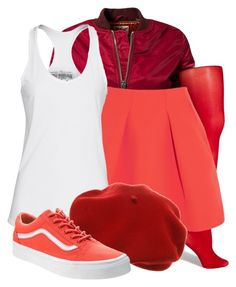 """Jubileena Bing Bing - Wreck it Ralph"" by flavoka-tigre ❤ liked on Polyvore featuring Schott NYC, Fogal, Kenzo, True Religion and Vans"