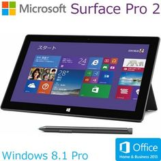 マイクロソフト Surface Pro 2 128GB 単体モデル [Windowsタブレット・Office付き] 6NX-00001 (チタン) マイクロソフト http://www.amazon.co.jp/dp/B00G4UF6GI/ref=cm_sw_r_pi_dp_CkQEub0BEE5D2