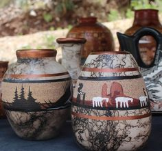 Navajo Jewelry pottery