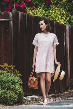 Mandarin Shift Dress - The Chriselle Factor #TheChriselleFactor