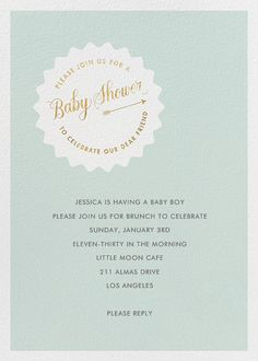 Join Us By Linda And Harriett For Paperless Post. Design Custom Baby Shower  Invitations With Easy To Use Design Tools And RSVP Tracking. View Otheru2026