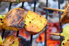 Roast Potatoes on a stick