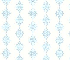Star Burst  in Sea Blue-Medium fabric by drapestudio on Spoonflower - custom fabric - http://www.spoonflower.com/designs/3975728