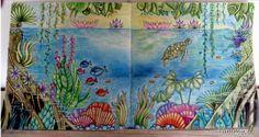 Magical Pond , Magical Jungle, Johanna Basford