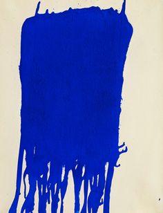 Yves Klein,Blue, 1960