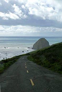 Mattole Road, Ferndale, Lost Coast, Cape Mendocino - Westernmost Point in the US