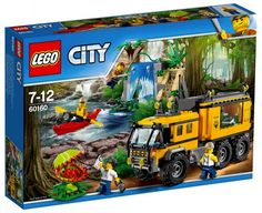 LEGO City 60160 Le laboratoire mobile de la jungle Juin 2017