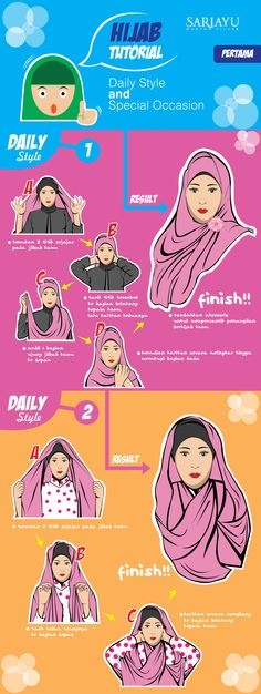 Hijab Tutorial for Daily Style